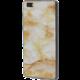 EPICO pružný plastový kryt pro Huawei P8 Lite MARBLE - gold  + EPICO Nabíjecí/Datový Micro USB kabel EPICO SENSE CABLE