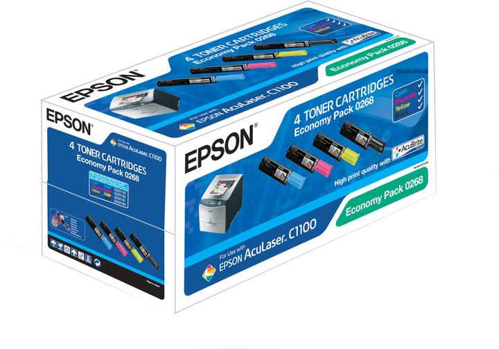 Epson C13S050268, CMYK pack