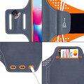 """Mobilly sportovní pouzdro na ruku pro mobilní telefon do 6.4"""", oranžová"""