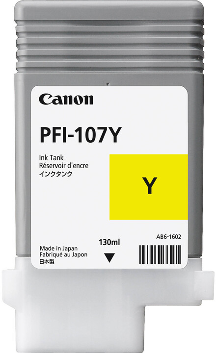 Canon PFI-107Y, yellow