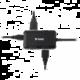 Yenkee YHB 4341BK Hub 4x USB 3.0, černá