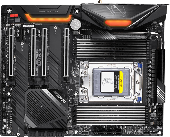 GIGABYTE TRX40 AORUS PRO WIFI - AMD TRX40