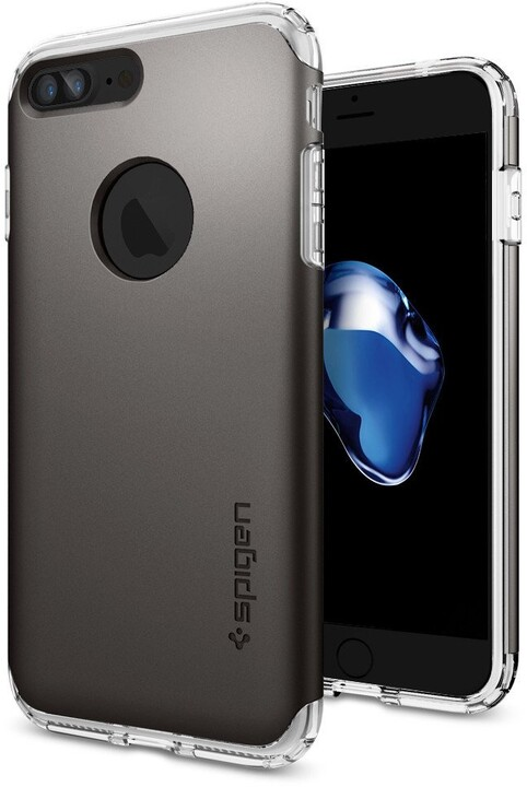 Spigen Hybrid Armor pro iPhone 7 Plus, gunmetal
