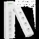 Vocolinc Smart PowerStrip VP2, 4 zásuvky, 1.8m, bílá  + Kuki TV na 2 měsíce zdarma