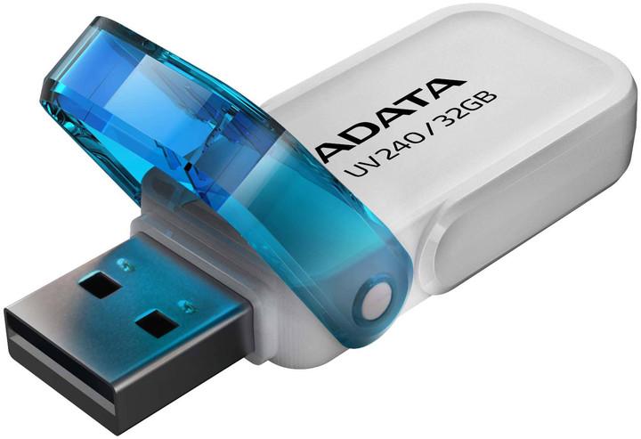 ADATA UV240 8GB bílá