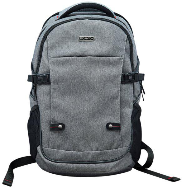 """Canyon rozměrný módní batoh na notebook do velikosti 15,6"""", šedý"""