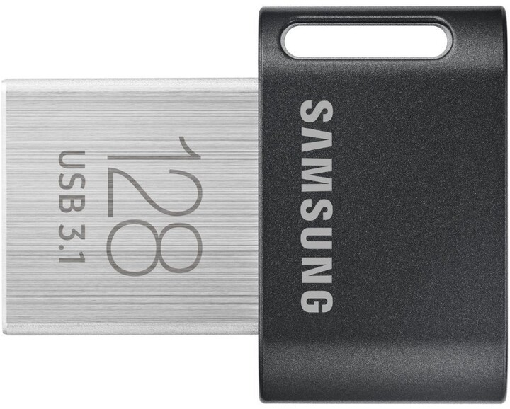 Samsung Fit Plus 128GB, šedá