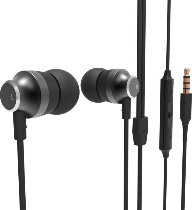 Nokia Stereo Earphones WH-201, černá