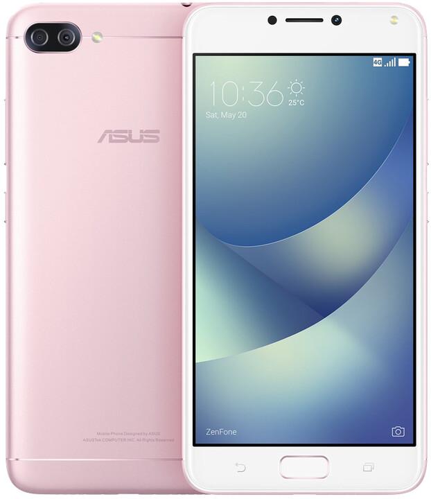 ASUS ZenFone 4 Max ZC554KL-4I040WW, 3GB/32GB, růžová