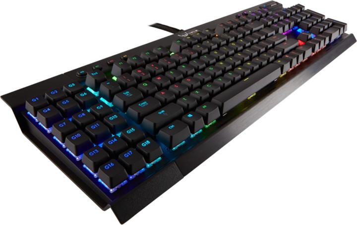 Corsair Gamiing K95 RGB LED + Cherry MX RED, CZ