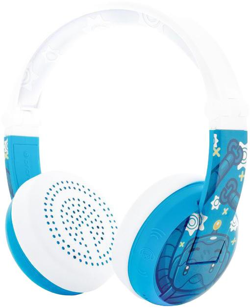 Buddyphones Wave - Robot, modrá