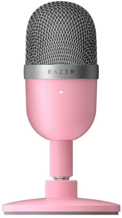 Razer Seiren Mini, Quartz Edition, růžová
