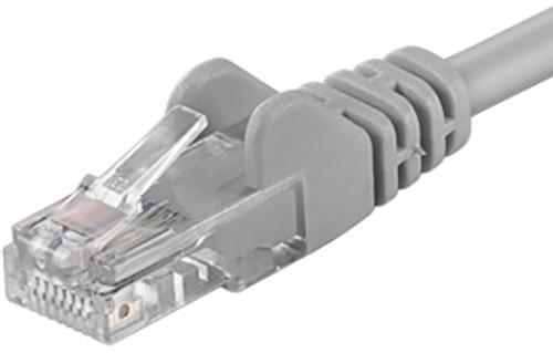 UTP síťový kabel kat.6 PC-HUB - 0,25m, šedá