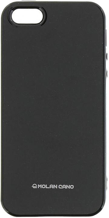 Molan Cano Jelly TPU Pouzdro pro iPhone 5/5S/SE, černá