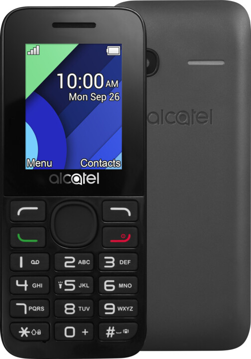 ALCATEL OT-1054D, šedá