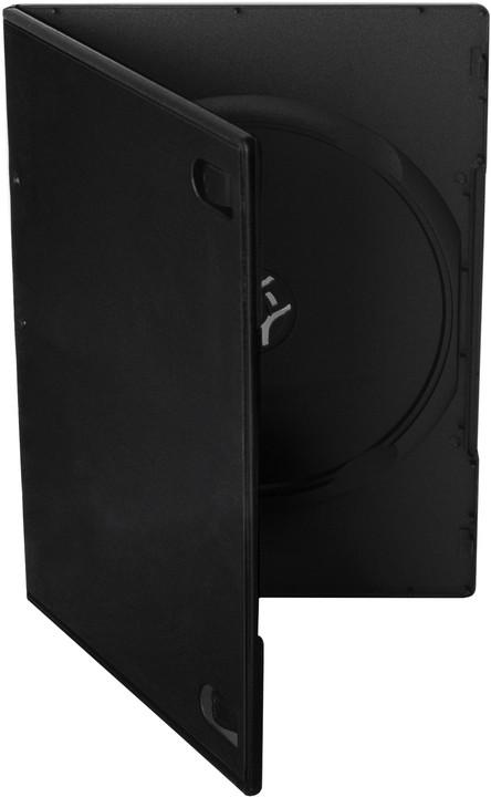 Cover It box:1 DVD 7mm slim černý - karton 100ks