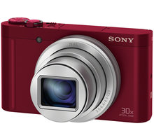 Sony Cybershot DSC-WX500, červená - DSCWX500R.CE3