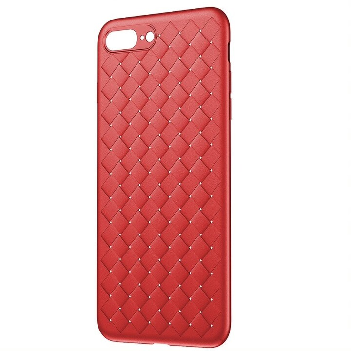 Baseus pouzdro BV Weaving Series pro iPhone 7/8 Plus, červená