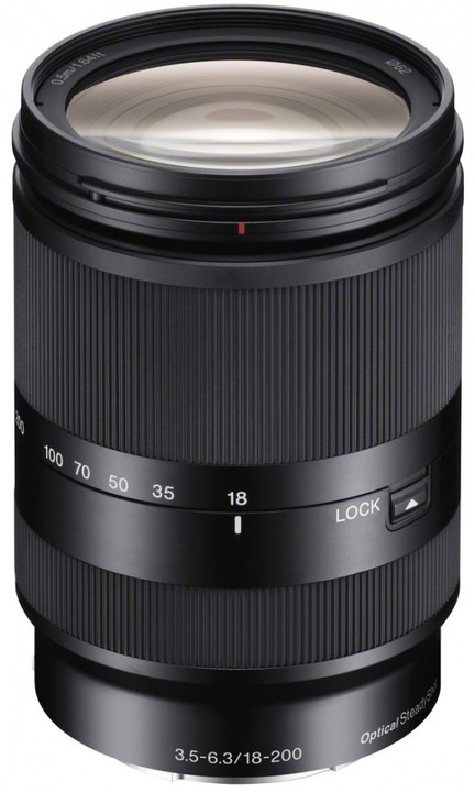 Sony E 18–200mm f/3.5–6.3 OSS LE