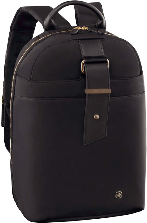 "WENGER ALEXA - 16"" dámský batoh na notebook a tablet, černý/floral"