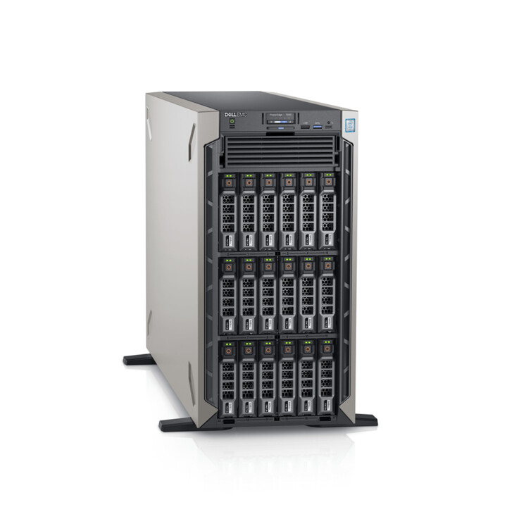 "Dell PowerEdge T640, /S4210/16GB/1x480GB SSD/16x2,5""/750W/3Y NBD"