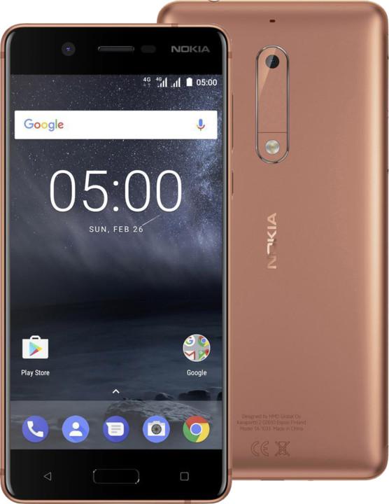 Nokia 5, Dual Sim, měděná