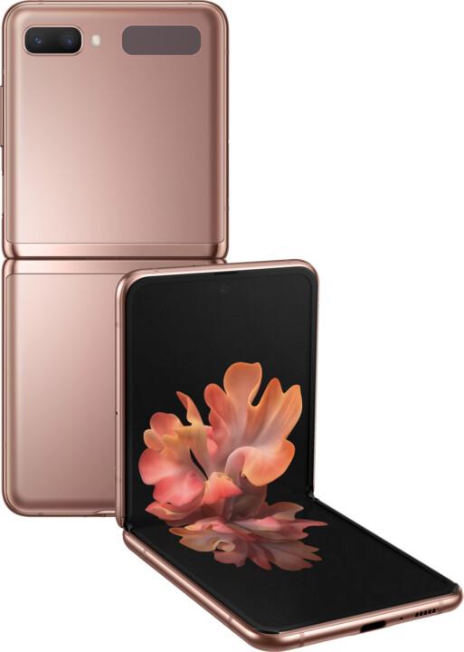 Samsung Galaxy Z Flip, 5G, 8GB/256GB, Bronze