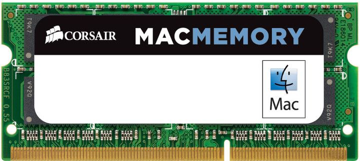 Corsair Mac 16GB (2x8GB) DDR3 1600 SO-DIMM (pro Apple)