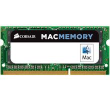 Corsair Mac 16GB (2x8GB) DDR3 1600 CL11 SO-DIMM (pro Apple) CL 11 - CMSA16GX3M2A1600C11