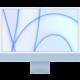 "Apple iMac 24"" 4,5K Retina M1/16GB/512GB/7-core GPU, modrá"