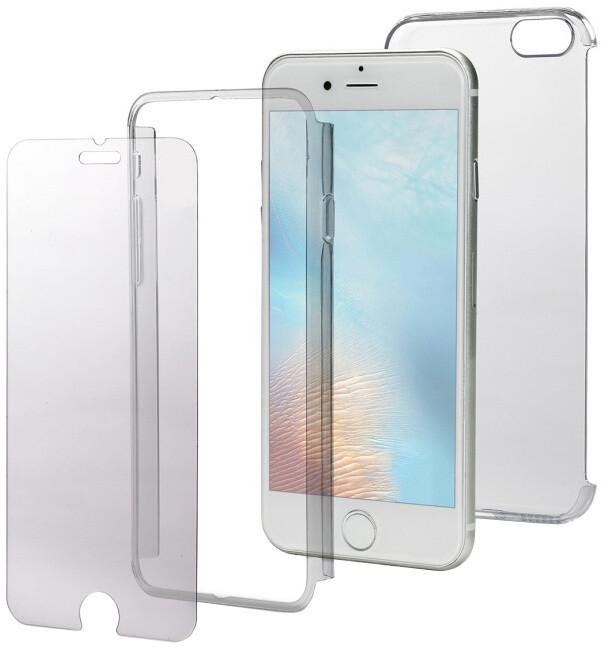 CELLY Body zadní kryt pro Apple iPhone 7, kompletní ochrana 3v1, čiré