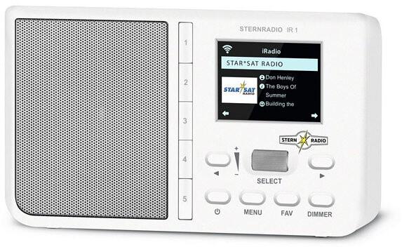 TechniSat SternRadio IR1, bílá