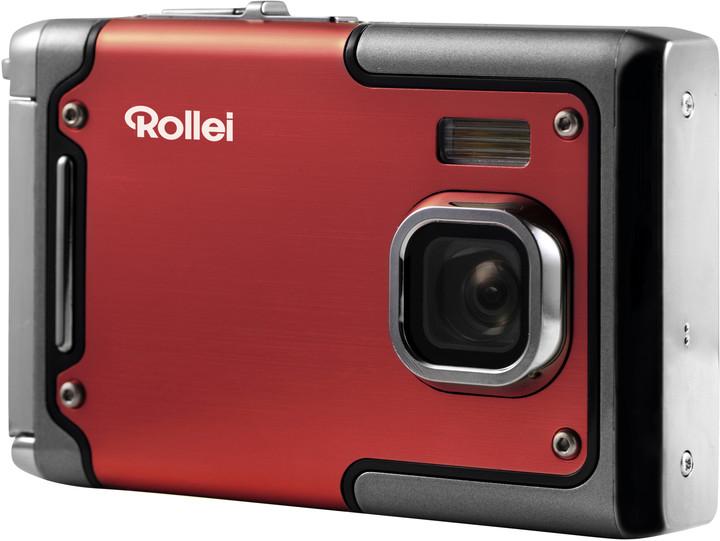 Rollei Sportsline 85, voděodolný, červená