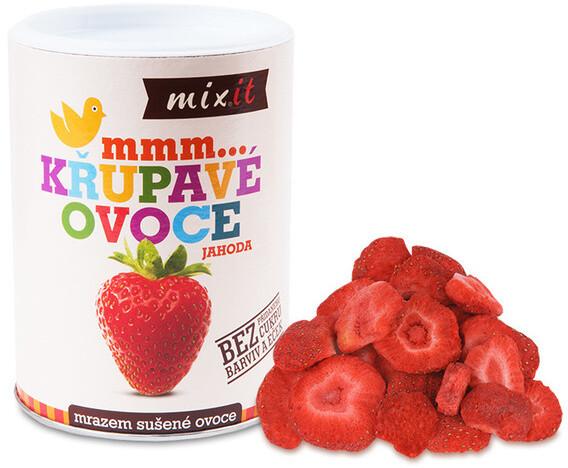Mixit křupavé ovoce - jahoda, 50g