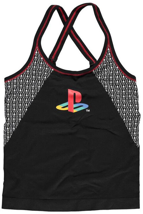 Tílko PlayStation - Tech Seamless, dámské (S)