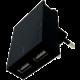 SWISSTEN síťový adaptér SMART IC, CE 2x USB 3 A Power + datový kabel USB/Type C 1,2m, černá