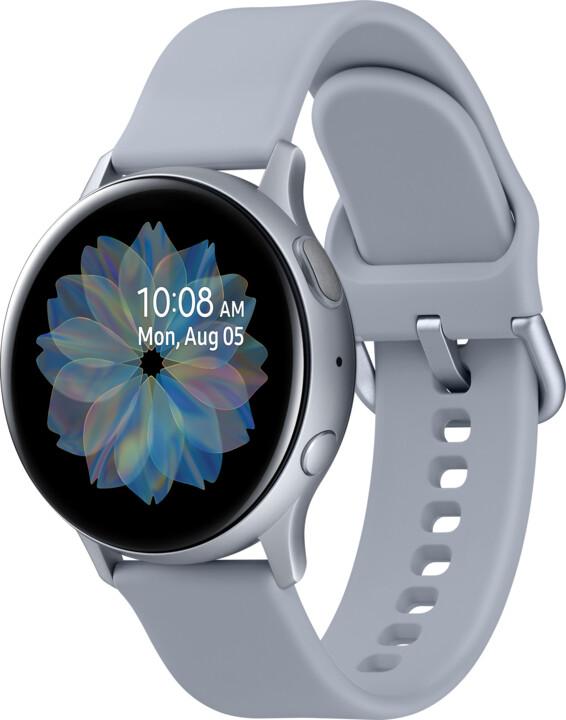 Samsung Galaxy Watch Active 2 40mm, stříbrná
