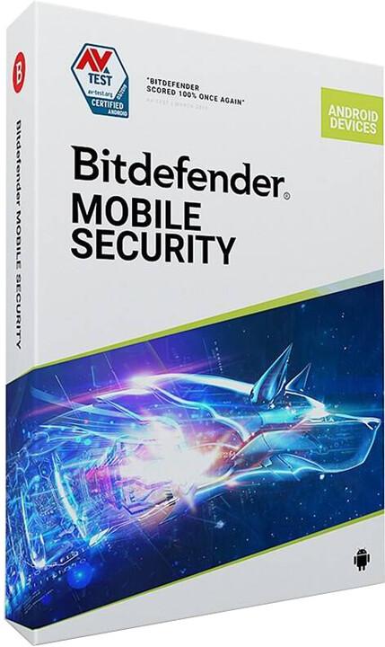 Bitdefender Mobile Security pro Android 2020 - 1 zařízení na 1 rok - BOX