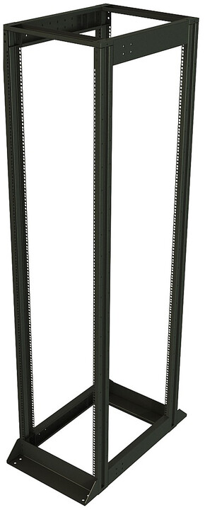 "Solarix rozv. rám 19"", 45U, 600x1000, vysokonosný, nosnost 1200 kg, komplet"