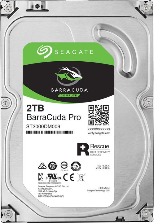 Seagate BarraCuda PRO - 2TB