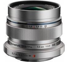 Olympus EW-M1220 12mm F2.0, stříbrná V311020SE000