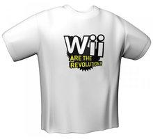 Tričko Wii Are The Revolution N-Zone, bílé (XL) - 65-XL