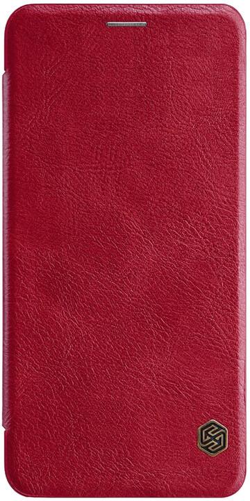 Nillkin Qin Book pouzdro pro Samsung A750 Galaxy A7 2018, červená