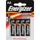 Energizer baterie LR6/4 Power Alkaline AA/4, 4ks