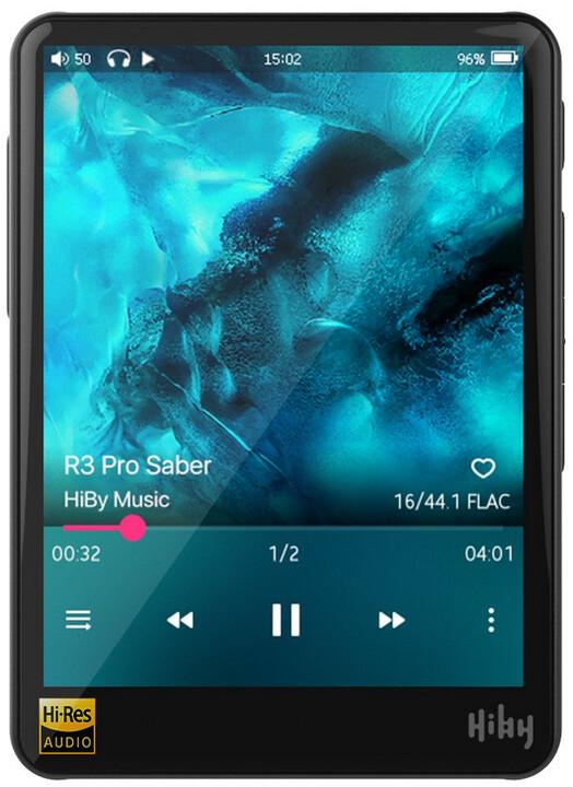 HiBy R3 PRO Saber, černá