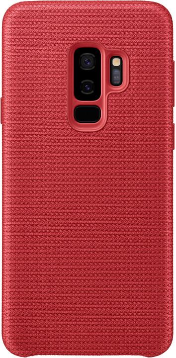 Samsung látkový odlehčený zadní kryt pro Samsung Galaxy S9+, červený