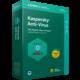 Kaspersky Anti-Virus 2018 CZ pro 1 zařízení na 24 měsíců, nová licence