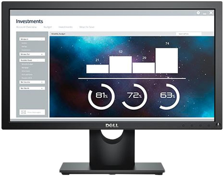 Dell E2016H - LED monitor 20""