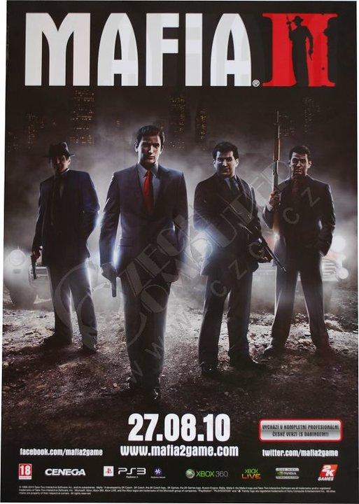 Plakát Mafia 2 Czccz