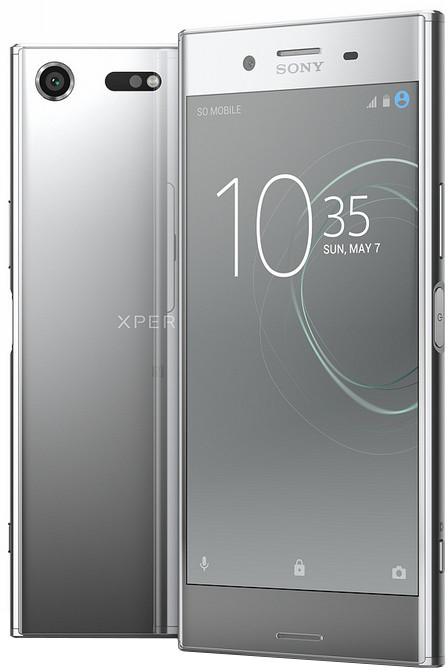 Sony Xperia XZ Premium, chromová